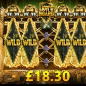 lions hoard slot game