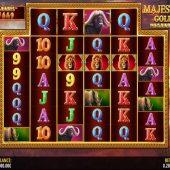majestic gold megaways slot game