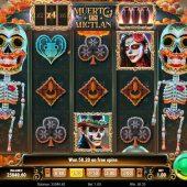 muerto en mictlan slot game